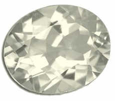 Topas, 3.3 Carat, VVSI, oval, excellent, Touch of Champange