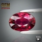 Mobile Preview: Rubellit, pink-violett, oval, SI, 0.94 Carat, 7.0x5.0x3.7 mm, aus Mozambique