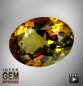 Preview: Andalusit, Oval, VSI, 1.30 Carat, 7.6x6.0x4.5 mm, aus Brasilien