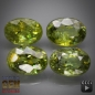 Preview: Demantoid Set, Oval, VS-SI, 2.79 Carat, 5.8x4.0-6.0x4.3 mm, aus Madagaskar