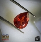 Preview: Sphalerit, Pear, VVSI, 6.80 Carat, 5.0x11.0x9.0 mm, aus Spanien
