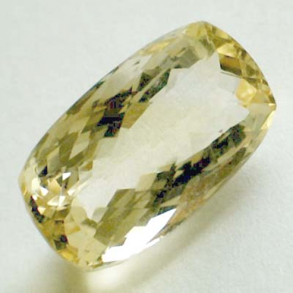 Citrin 13.75 Carat, VVSI, Antik Checkerboard, excellent