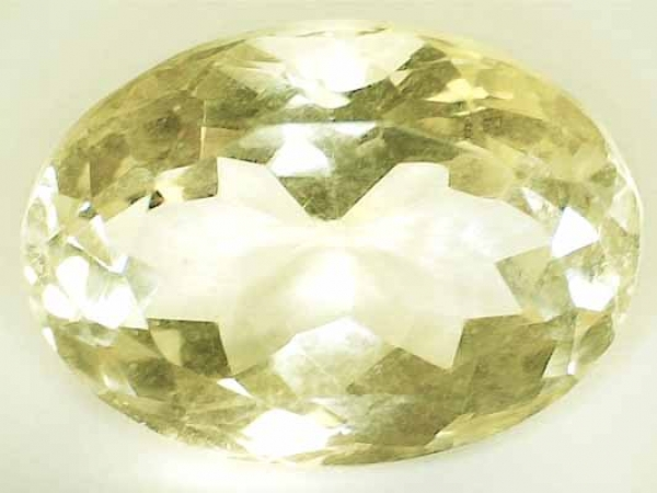 Citrin 13.10 Carat, VVSI, Oval, excellent