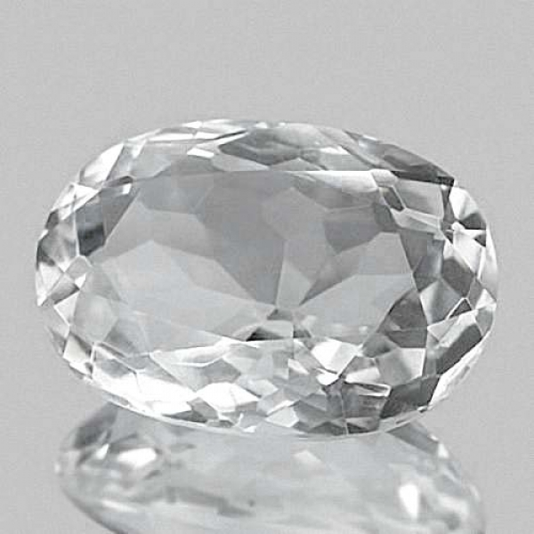 Quarz, Kristallweiss,  44.30 Carat, oval, IF, excellent