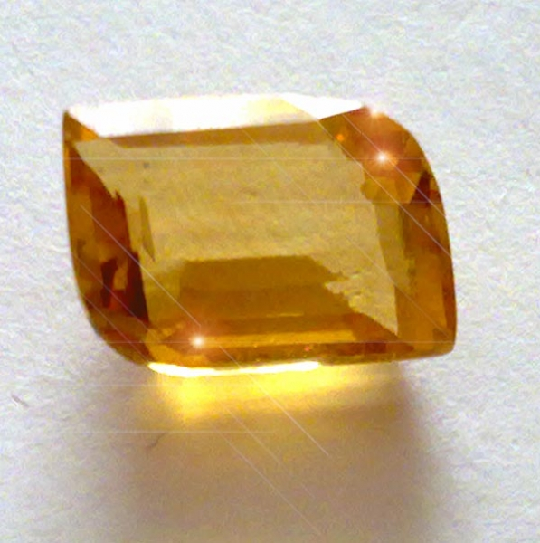 Citrin 5.90 Carat, VVSI, Fancy, excellent