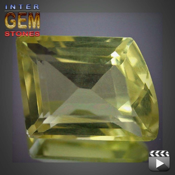 Lemon Quarz, 7.45 Carat, Fancy, VVSI, excellent