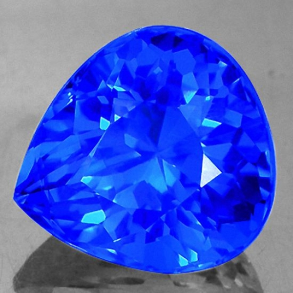 Mystic Quarz, 15.59 Carat, Tropfen, IF, excellent